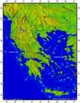 Greece, topography
