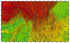 Hengduan Montains, topography